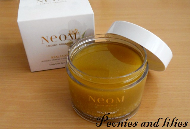 Neom real luxury body scrub, Neom body scrub, Neom real luxury organic body scrub, Neom luxury organics