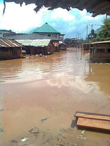 Flood in Anam 2012