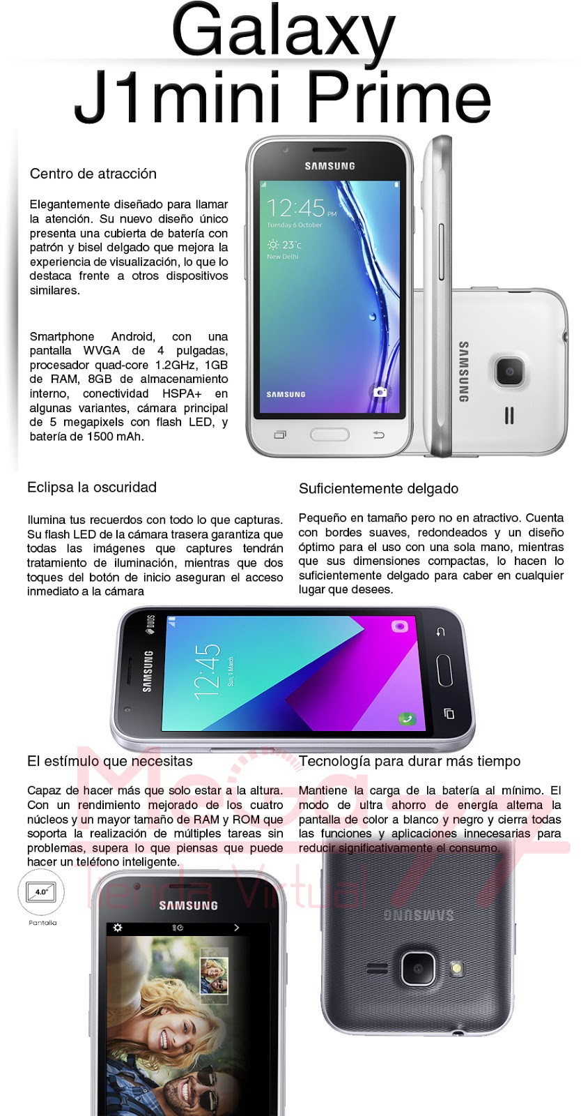 Samsung galaxy j1 mini for Oficina xiaomi bogota