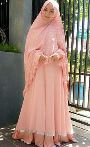Model baju muslim terbaru casual modern