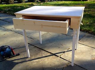 build vanity drawer
