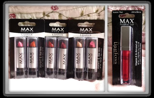 Action MAX lippenstiften en lipgloss