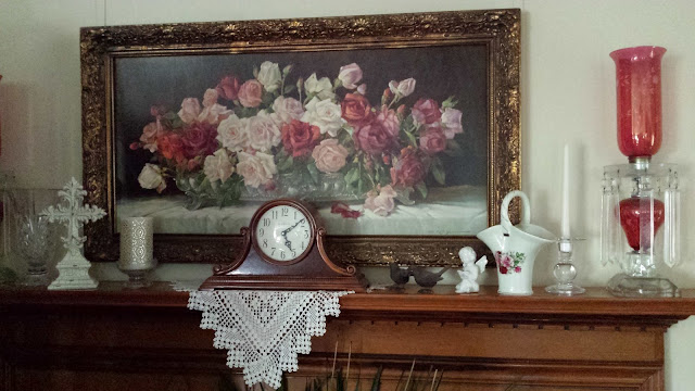 A Rose Vintage Painting, Living from Glory To Glory Blog...