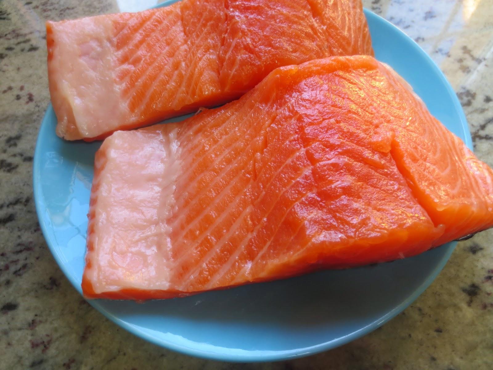 Guiso de salmón con patatas olla gm