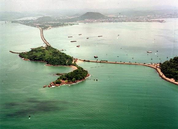 The Amador Causeway, Panama