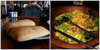 polynesian resort disney ohana dinner salas bread