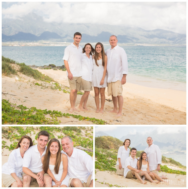 Family Pictures In The Beach: A First Family Portrait! The Theis Family By Maui