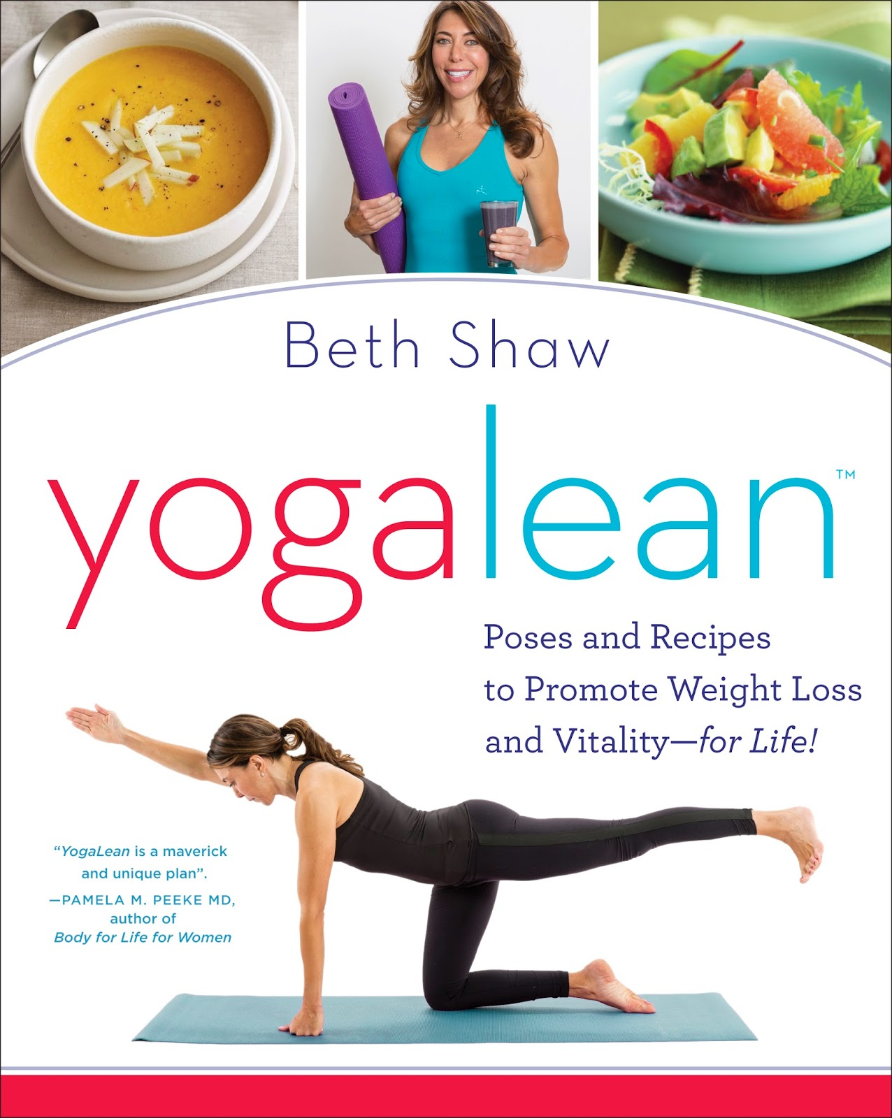 YogaLean book: Giveaway on HinesSight Blog. Ends March 15.
