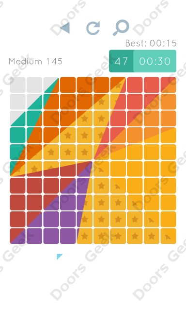 Cheats, Walkthrough for Blocks and Shapes Medium Level 145