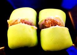 resep membuat pancake durian pandan spesial