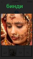 знак бинди в индуизме