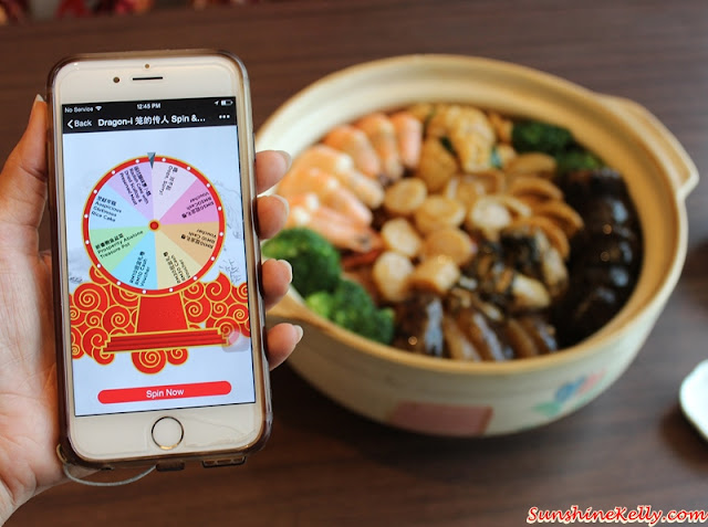 Dragon-i Prosperity Abalone Treasure Pot, WeChat Spin and Win Game, Dragon-i Malaysia, Poon Choy, WeChat, WeChat Game, WeChat Malaysia