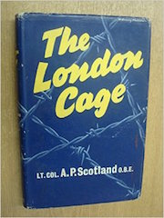The London Cage by AP Scotland, original jacket cover