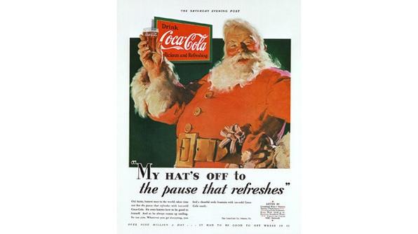 Babbo Natale Coca Cola 1931.L Appartamento Al Piano Di Sotto Babbo Naltale Coca Cola Galleria Di Immagini Vintage