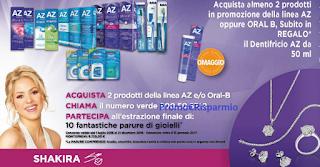 Logo Con AZ e OralB vinci 10 parure ''Diamond''
