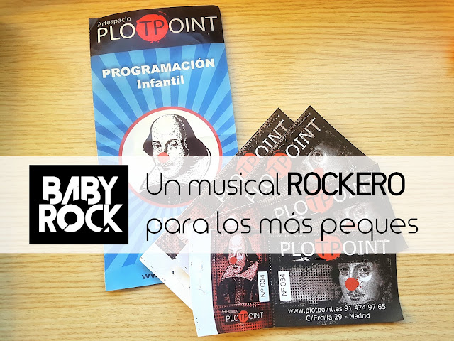Baby Rock (Sala Plot Point), teatro para bebés