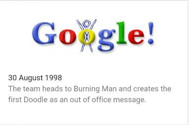 riwayat logo google agustus 1998