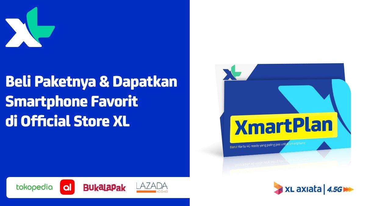 XL - Promo Paket + Smartphone Favorit di Official Store Tokopedia Bukalapak Lazada