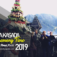 Yadnya kasada ceremony time in Mount Bromo 2019