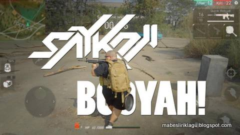 Saykoji - Booyah! Lirik