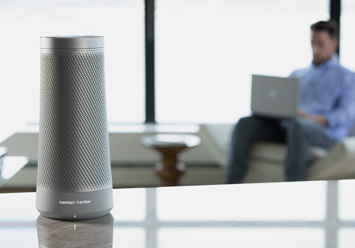 Cortana speaker by Harman Kardon
