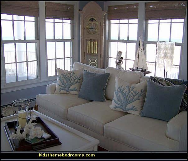 Beach Themed Decor: Maries Manor: October 2014