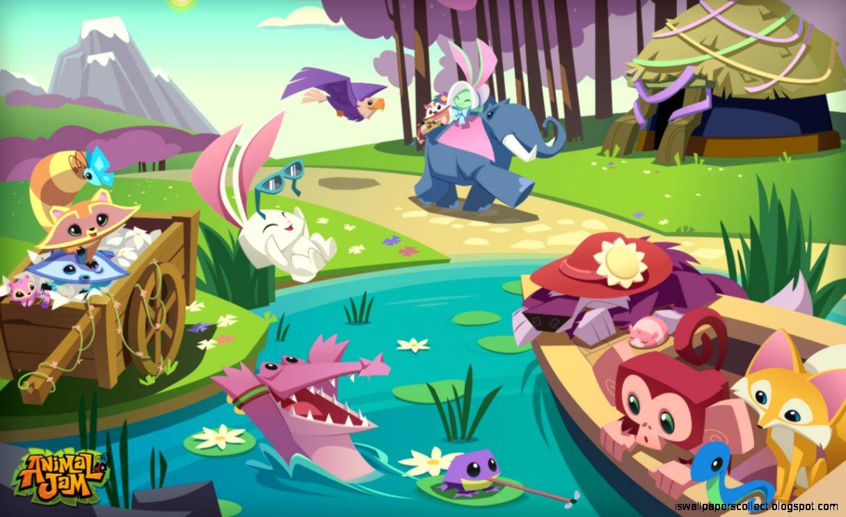 Animal jam anime adventure wallpaper wallpapers collection - Animal jam desktop backgrounds ...