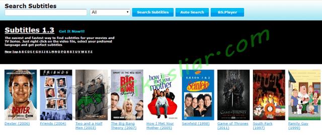 Situs Download Subtitle Film Bahasa Indonesia Terpopuler, Terbaik dan Gratis