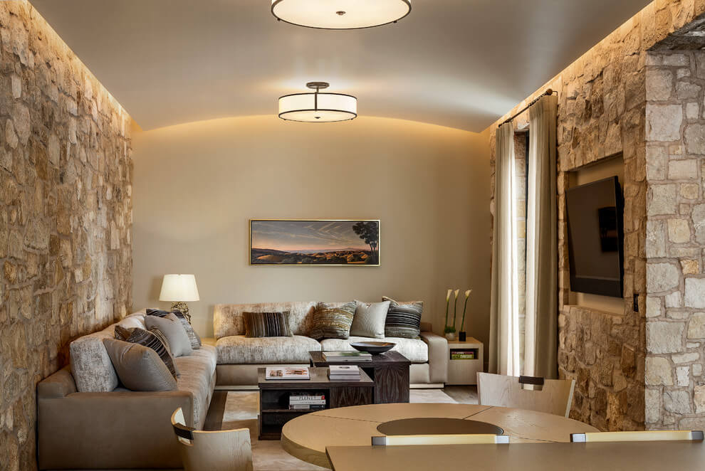 De 50 fotos de salas decoradas modernas peque as for Como decorar una sala clasica