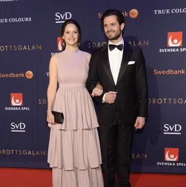 Książę Carl Philip i księżna Sofia na Gali Sportu