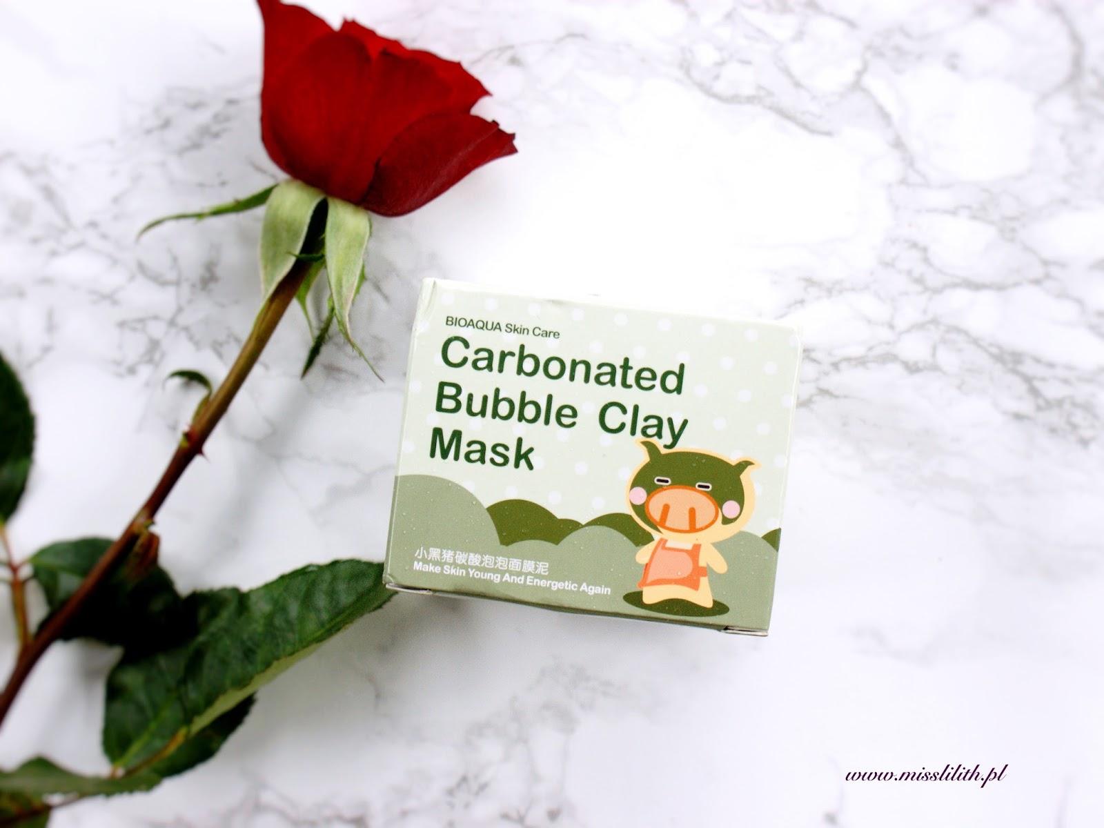 Ulubieńcy września 2016. Bioaqua bąbelkująca maseczka oczyszczająca Carbonated Bubble Clay Mask