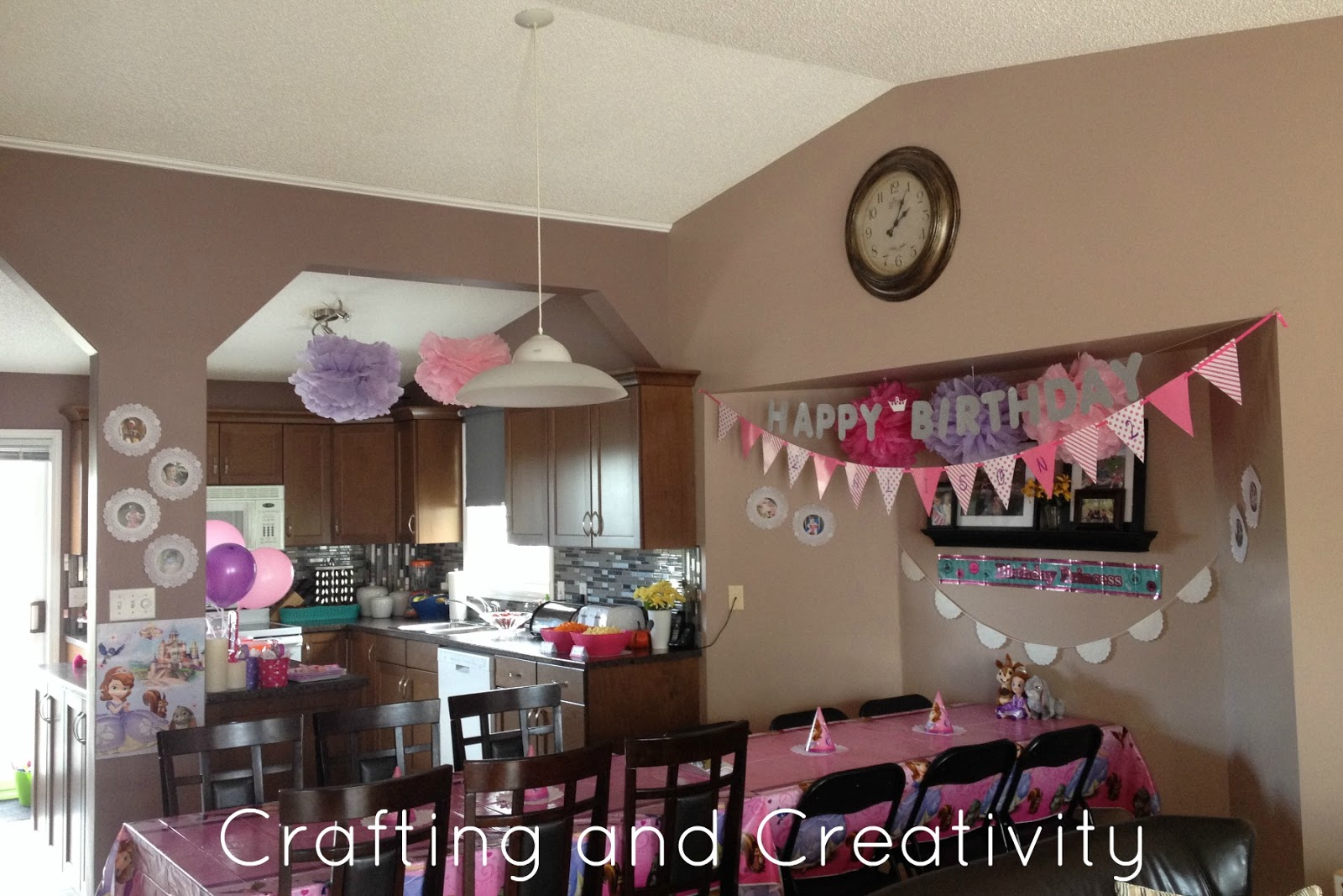 Crafting and creativity my daughter 39 s 2nd birthday party for 2nd birthday decoration ideas