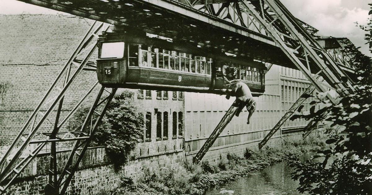 Tuffi the Elephant and Her 1950 Train Jump