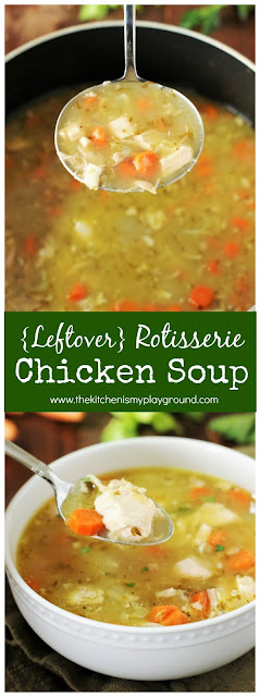 How to Make Chicken Soup with a Rotisserie Chicken image