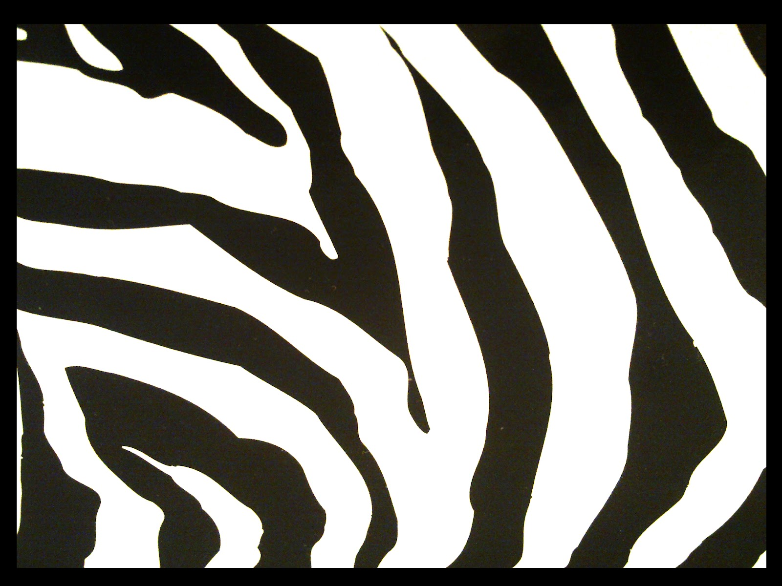 Zebra Stripes Pattern Printable