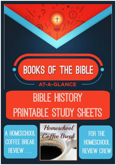 Books Of The Bible At-A-Glance - A Homeschool Coffee Break Review for the Homeschool Review Crew @ kympossibleblog.blogspot.com