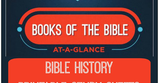 Books Of The Bible At-A-Glance (A Homeschool Coffee Break Review)
