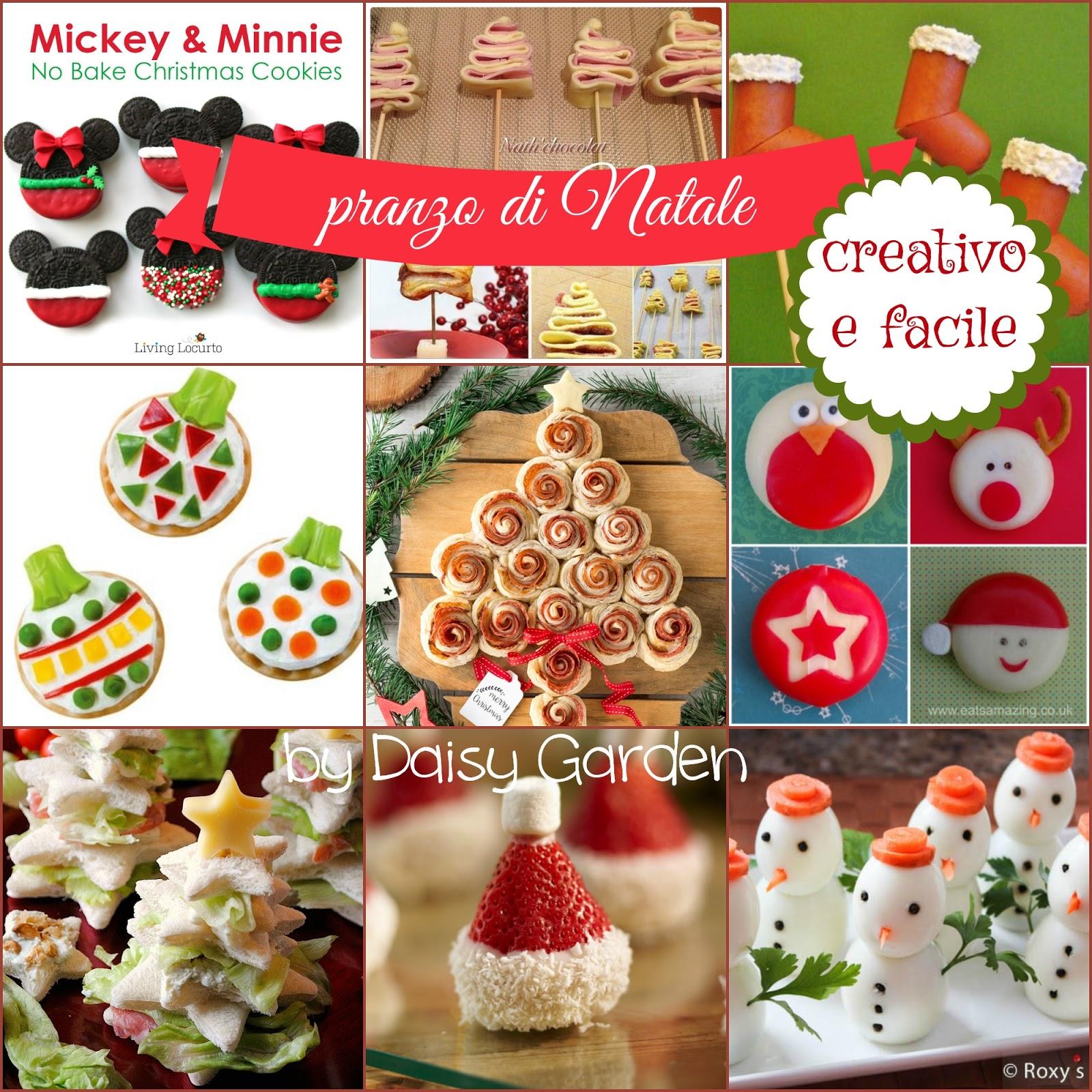 Daisy Garden: Idee per un pranzo di Natale creativo e facile