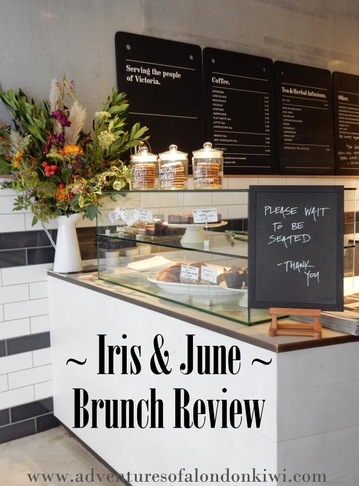 Iris and June Brunch Victoria SW1P Adventures of a London Kiwi