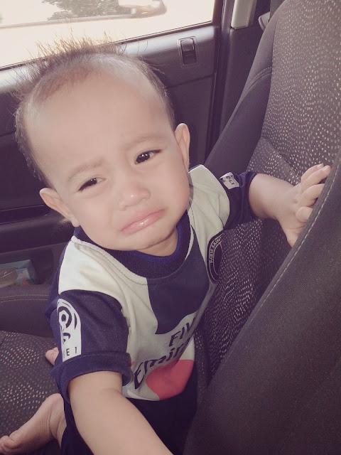 cute genius little boy
