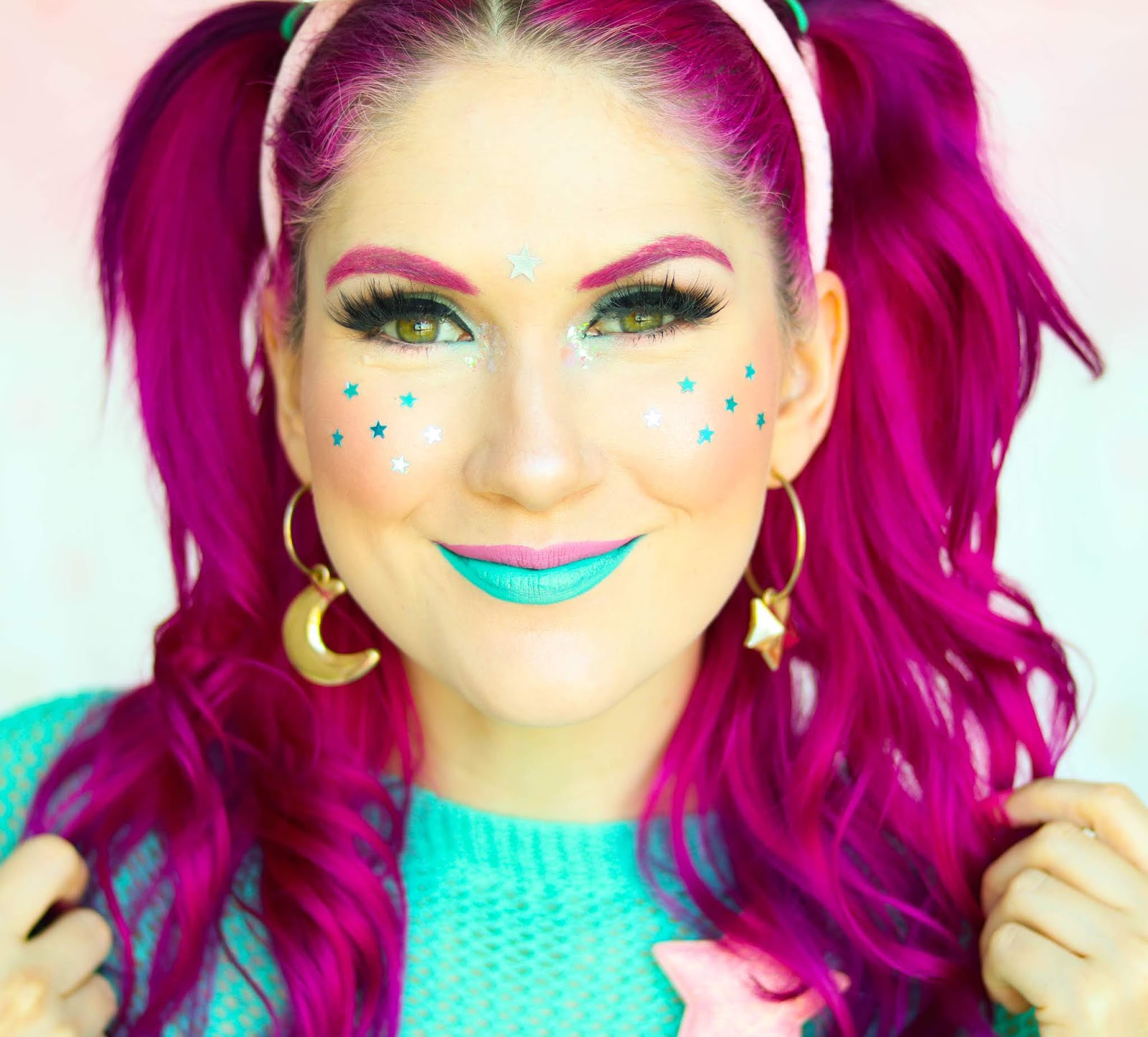 Sugarpill Little Twin Stars Review and Makeup Tutorial