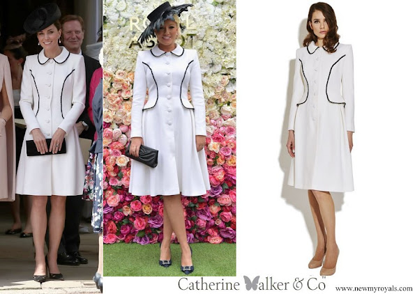 Kate Middleton Catherine Walker Liza Coat June 2019