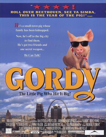 Gordy (1995) Dual Audio Hindi 480p BluRay x264 300MB ESubs Movie Download
