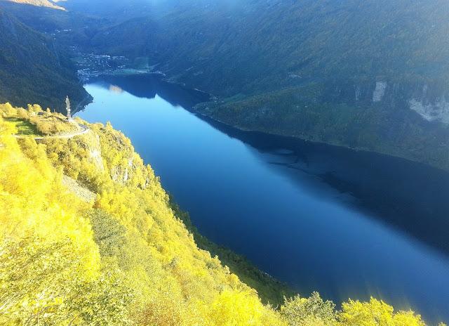 vackraste platser på jorden - fjordlandet Norge