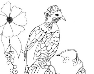 Most Beautyfuly Pigeon Coloring Pages