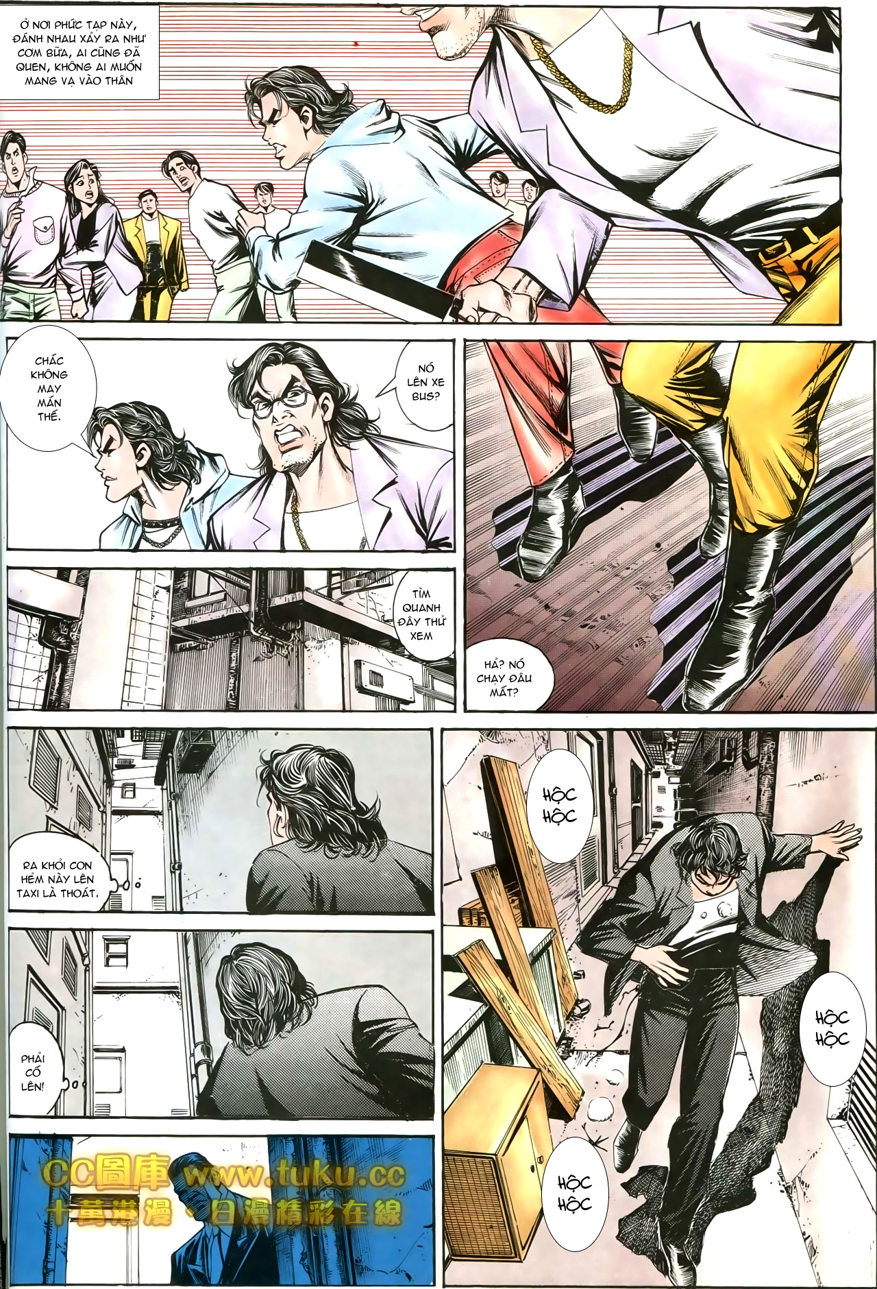 Người Trong Giang Hồ chapter 197: quạ đen báo thù trang 16