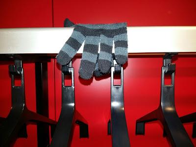 Vergeten handschoen