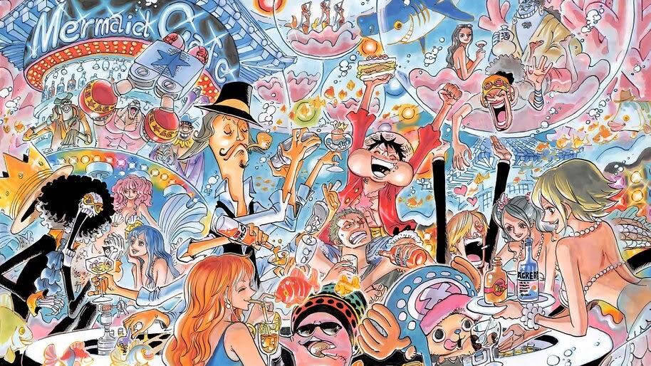 One Piece, Straw Hat Pirates, 4K, #6.144