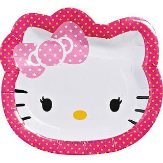 Gambar Piring Hello Kitty 3