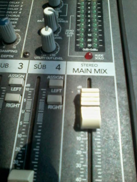 Pengenalan dan Fungsi Fasilitas yang Tersedia pada Mixer Audio